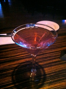 A cosmo at Mass Ave Tavern/ PHOTO BY Hilary Ribons. CLICK PHOTO FOR FULL PHOTO STORY.
