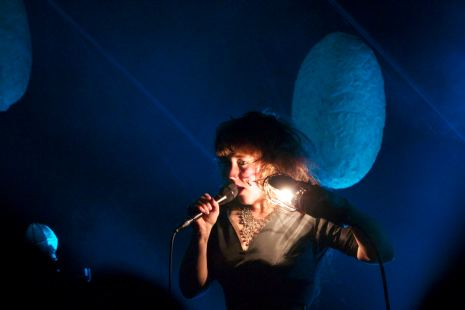 Vocalist Megan James of Canadian duo Purity Ring/ PHOTO BY Sydney Moyer