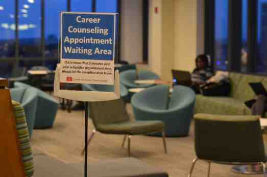 The Career Development Center offers helpful tips and resources for your internship search/ PHOTO BY Heather Goldin