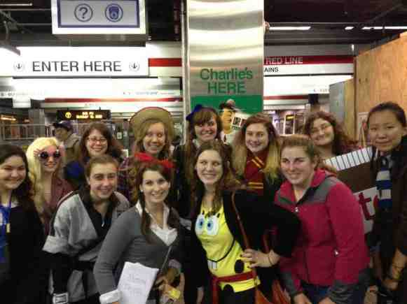 BU's Harry Potter Alliance chapter, 'Dumbledore's Army'/PHOTO COURTESY OF Yi Feng