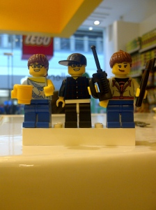 "Are you going to ""The Lego Movie""?/ PHOTO BY Robin Ngai"